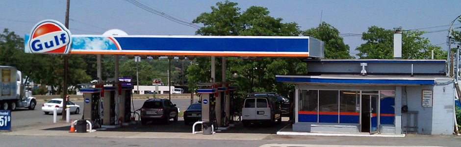 Gaeta Gulf Gas Station, Route 1, North Bound